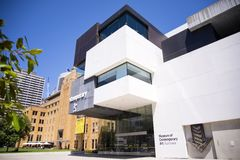 Museum of contemporary art in Sydney, Australia Stock Photography
