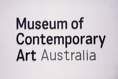 Museum of contemporary art in Sydney, Australia Stock Photos