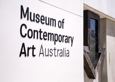 Museum of contemporary art in Sydney, Australia Royalty Free Stock Photo