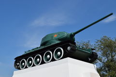 Museum copy of the tank Stock Photos