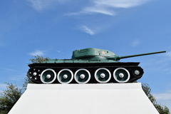 Museum copy of the tank Stock Images