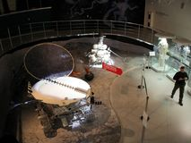 In Museum of Cosmonautics. The history of space exploration. Royalty Free Stock Images