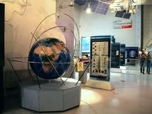 In Museum of Cosmonautics. The history of space exploration. Stock Images