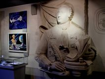 In Museum of Cosmonautics. The history of space exploration. Royalty Free Stock Photography