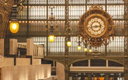 Free Museum D`Orsay Clock Stock Images - 116822234