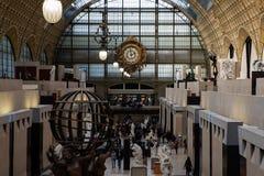 Museum D ` Orsay in Parijs, Frankrijk Stock Foto
