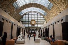 Museum D ` Orsay in Parijs, Frankrijk Stock Fotografie