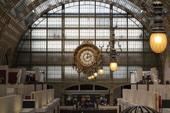 The museum D'Orsay in Paris, France. Royalty Free Stock Image