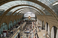 The museum D'Orsay in Paris, Royalty Free Stock Images