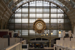 The museum D'Orsay in Paris, Stock Photography