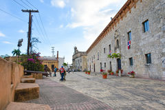 Museum de Las Casas Reales Δομινικανή Δημοκρατία του Domingo Santo Στοκ Εικόνα