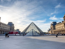 Museum DE Louvre Stock Afbeelding