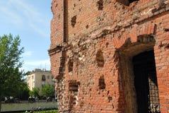 Museum - de strijd van panoramaStalingrad Stock Foto