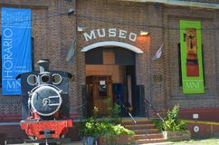 National rail museum Argentina, Buenos Aires Royalty Free Stock Image