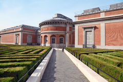 Museum del Prado Garden bij de lente zonnige dag stock foto
