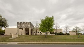 Museum der biblischen Kunst gelegen in Dallas, Texas lizenzfreie stockfotografie