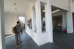 Museum der Da Nang Cham-Skulptur Stockbilder