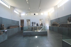 Museum der Da Nang Cham-Skulptur Stockfotografie