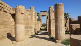 Museum der Einbalsamierung in Luxor Ägypten stock video