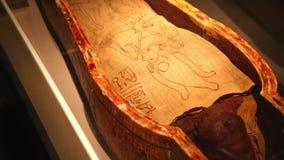 Museum der Einbalsamierung in Luxor Ägypten stock video footage