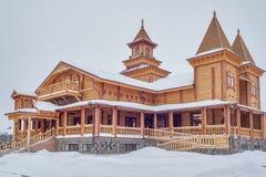 Museum der hölzernen Architektur Russland Stockfotografie