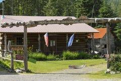 Museum in der Hoffnung Alaska Stockfotografie