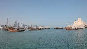 Museum der islamischen Kunst in Doha stock video