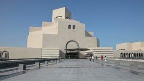 Museum der islamischen Kunst in Doha qatar stock video footage