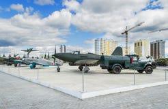 Museum der militärischer Ausrüstung lizenzfreies stockfoto