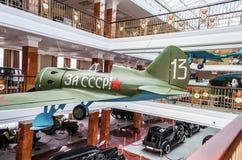 Museum der militärischer Ausrüstung stockfoto