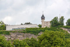 Museum der Moderne, Salzburg. Salzburg, Austria - June 25, 2014: Museum of Modernity. It hosts several different exhibitions each year Royalty Free Stock Photography