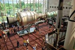 Museum der nationalen Luft und des Platzes Stockbild