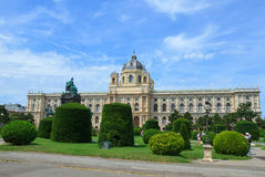 Museum der Naturgeschichte in Wien Lizenzfreie Stockbilder