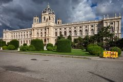 Museum der Naturgeschichte in Wien Lizenzfreies Stockbild