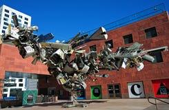 Museum der zeitgenössischer Kunst (MOCA) von Los Angeles Lizenzfreies Stockbild