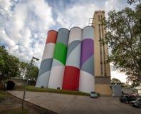 Museum der zeitgenössischer Kunst von Rosario-Makro - Rosario, Santa Fe, Argentinien stockfotos