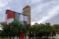 Museum der zeitgenössischer Kunst von Rosario-Makro - Rosario, Santa Fe, Argentinien stockbilder