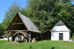 Museum des Dorfs Rosia Montana - alte römische Goldmine Rosia Montana, Siebenbürgen Stockfoto