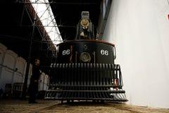 Museum des Elektroautos in Porto lizenzfreie stockfotos