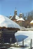Museum des Haushalts Pirogovo Stockfotografie