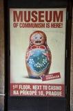 Museum des Kommunismus, Prag stockfoto