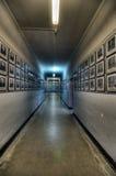 Museum des Konzentrationslagers Auschwitz, Polen Stockbilder