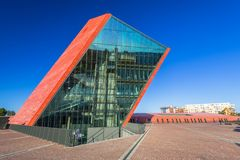 Museum des zweiten Weltkriegs in Gdansk Stockfotografie