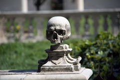 Museum di San Martinio - human skull Stock Photos