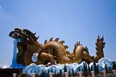 Museum dragon breeding offspring. Dragon Paradise Royalty Free Stock Image