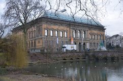 Museum of Dusseldorf!!. History of Germany culture Stock Photography