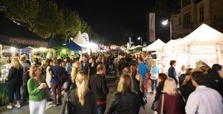 Museum Embankment Festival in Frankfurt Stock Photo