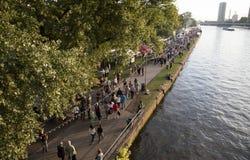 Museum Embankment Festival in Frankfurt Stock Photography