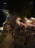 Museum Embankment Festival in Frankfurt Stock Images