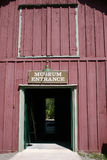 Museum entrance. On an old village in Ontario, Canada Royalty Free Stock Image